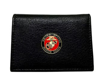 US Marines Business Card Case – 1″ Color