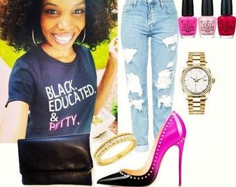 Black, Educated & Petty, Petty T-shirt