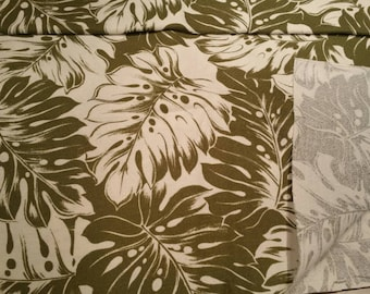Tropical upholstery fabric, pillow fabric, decorative home fabric, one, 1, yard