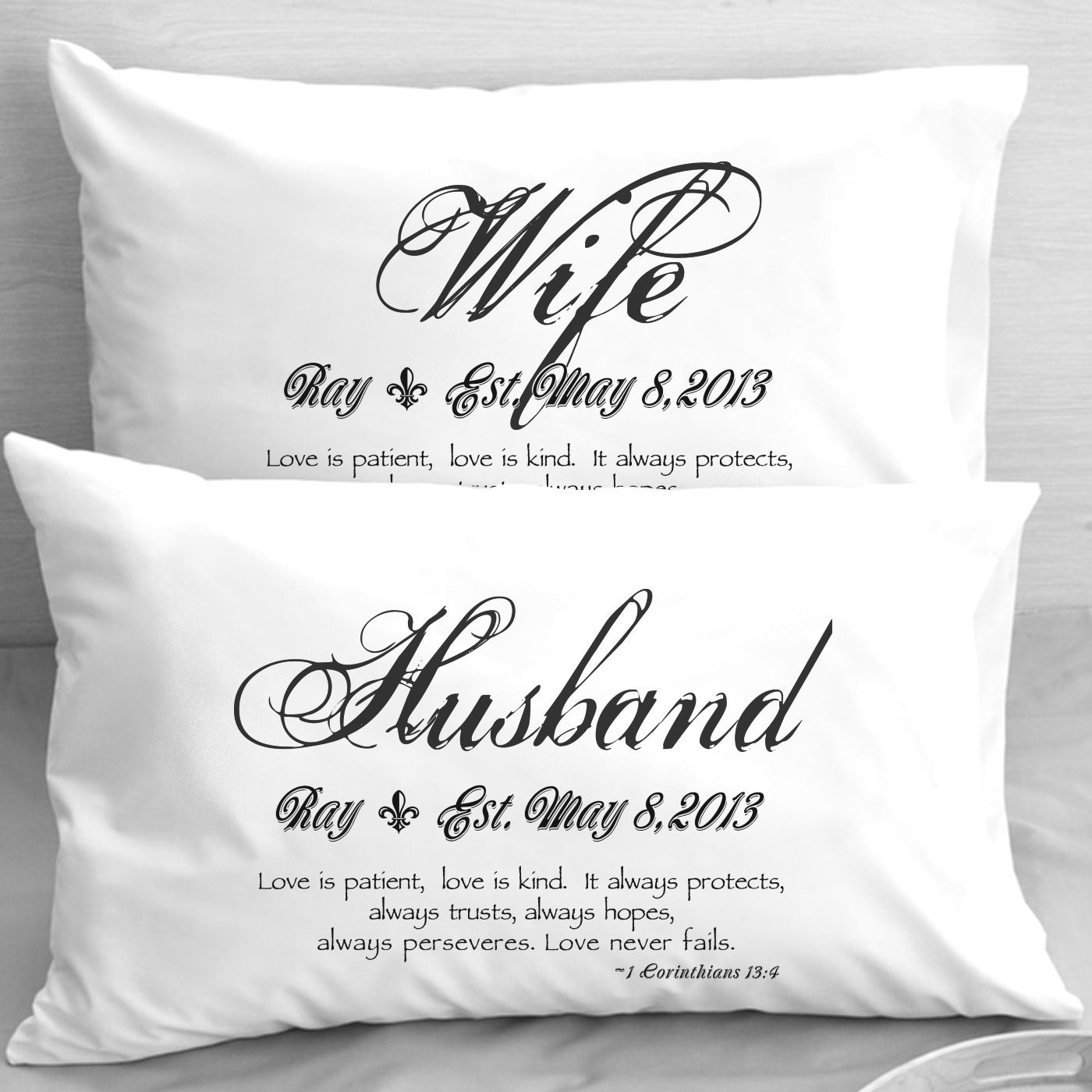 Silver wedding gift for husband