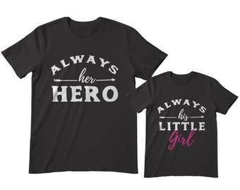 Dad and Daughter Shirts, Daddy and daughter shirts, Matching Dad and daughter, Father daughter shirts, dad and daughter matching outfit