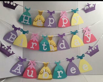 Disney's Princess Inspired Banner
