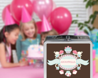Personalized Photo Lunchbox - Great for a Custom Storage Box - Goody Bag - Custom Gift