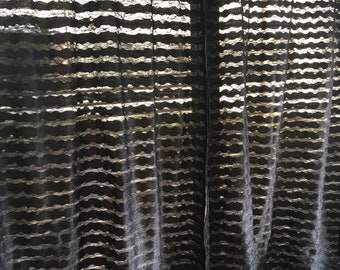 Recycled curtains