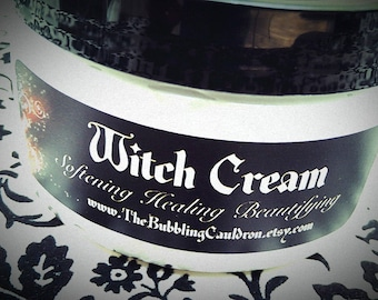 Witches Brew Scent Witch Cream - Witch Lotion -  Quite Bewitching  - 4 Ounces - Witches Brew Scent - Patchouli - Cinnamon - Cedarwood