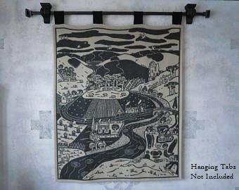 Scottish Highlander Lambswool Blanket   GIFT QUALITY