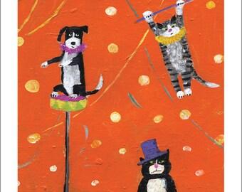 Pet Circus/ Print