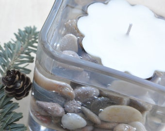"""100% Soy Floating Candles, Beautiful for Centerpieces or to Float in the Pool for Patio Ambiance, Choose Your Scent,  2 1/2"""" around"""