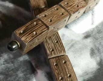 "Ramala Shastra or ""ilm Al-ramal"" Bocote Wood Divination Dice"