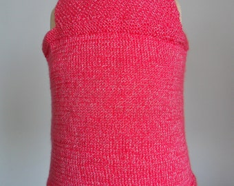Girls sleeveless sweater