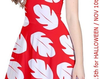 Lilo-Inspired Costume Cosplay Dress