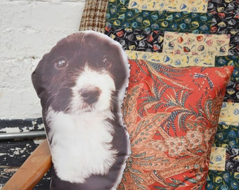 Custom Dog Pillow - Custom Pet Photo Pillow - Dorm Room Gift - College Student Gift - Photo Dog Pillow - High School Graduation Gift