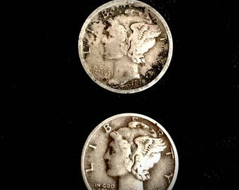 collectible coins 1918 S mercury dime 1943 mercury dime currency collectible coins