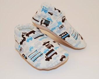 Rush Hour Soft Sole Cloth Baby Shoe