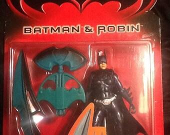 Batman and Robin Battle Blade Blaster & Scythe Batgirl Action Figure MINT Kenner