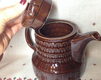 Big tea pot / rustic teapot/  brewing teapot made in USSR in 1970s