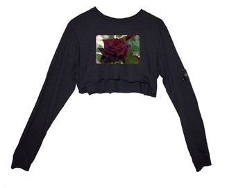 Charcoal Rose Crop