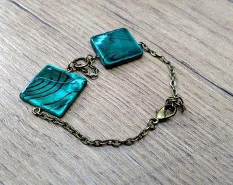 Bracelet ~ shell beads ~