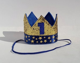Number 1 With Crown Etsy