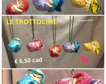 New Le TROTTOLINE fimo Mermaid and Fairy Collection