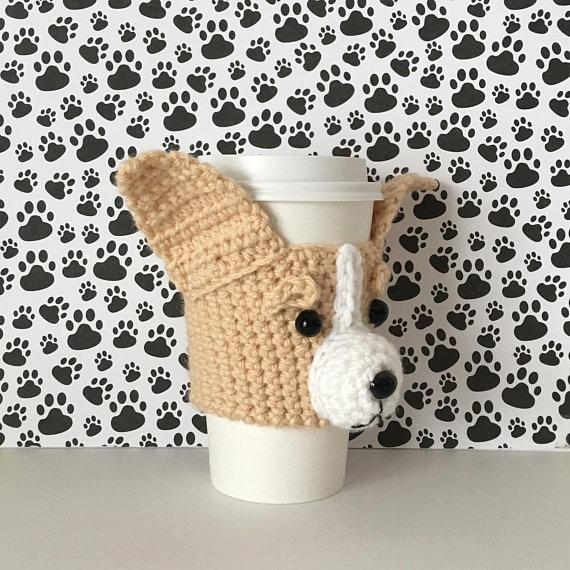 Crochet Chihuahua Dog Mug Cozy Pattern Chihuahua Pattern