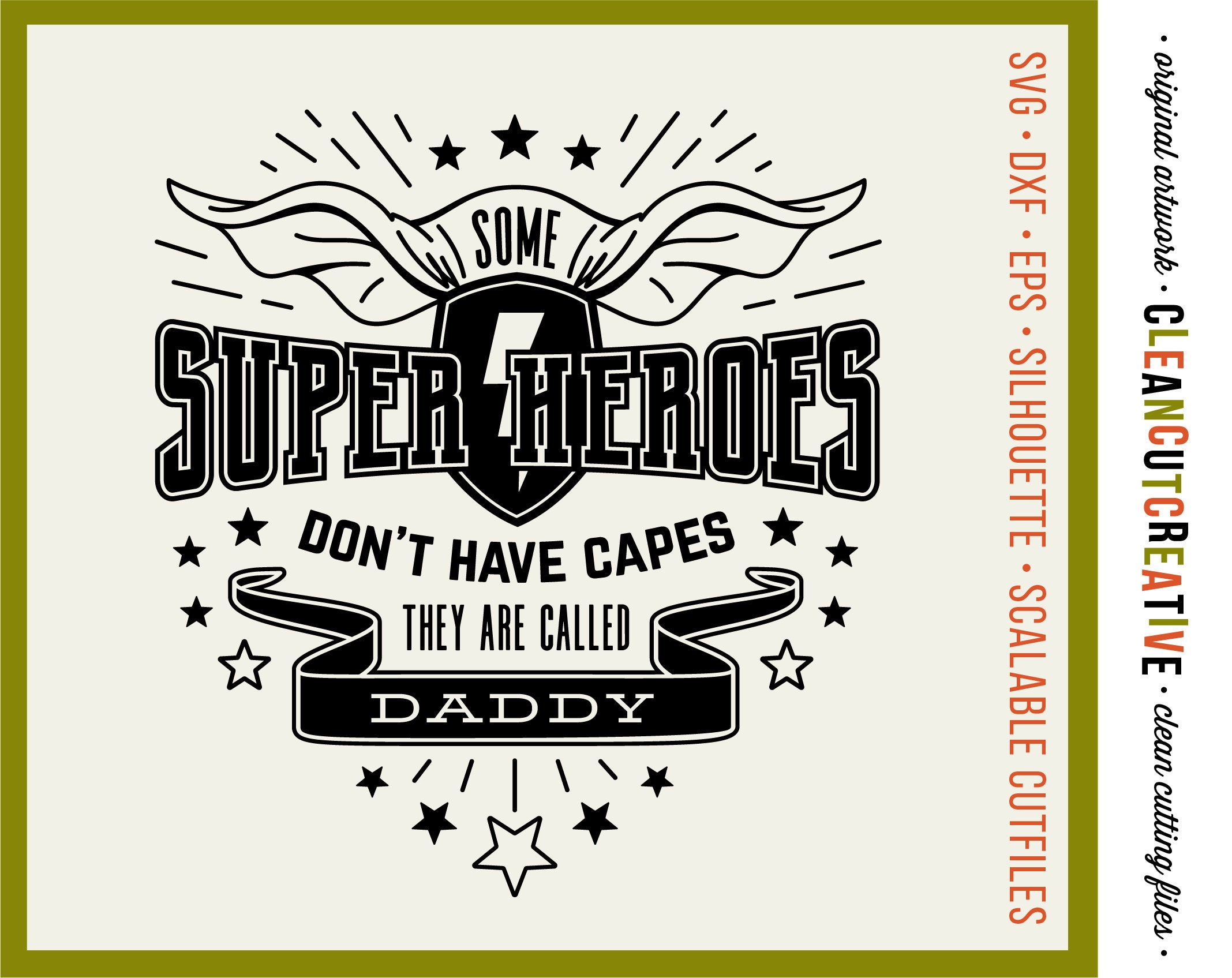 SVG-Superheld Svg Super Hero Svg Väter Tag Svg Cape Svg