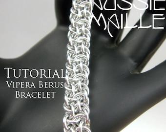 Chain Maille  Tutorial - Vipera Berus Bracelet