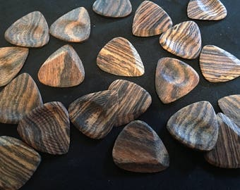 Bocote Wood Guitar Picks