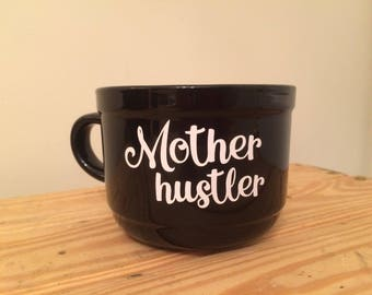 Mother Hustler Coffee Mug Raunchy Redhead Designs
