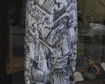 80s Optical Illusion Skirt - Italian Vintage 1980s - Vintage Skirt