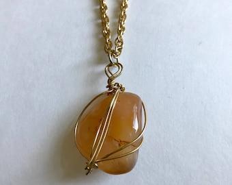 Carnelian Chakra Necklace