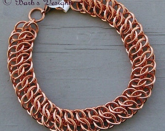 Healing Copper Chainmaille Bracelet