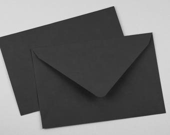 Envelope C6 Black 10 pieces