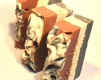 BLACK RASPBERRY & VANILLA Soap, vegan soap, cold process soap, handmade soap Australia, artisan soap