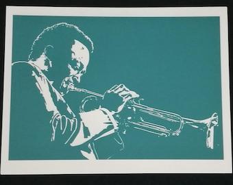Giclée print of Miles Davis