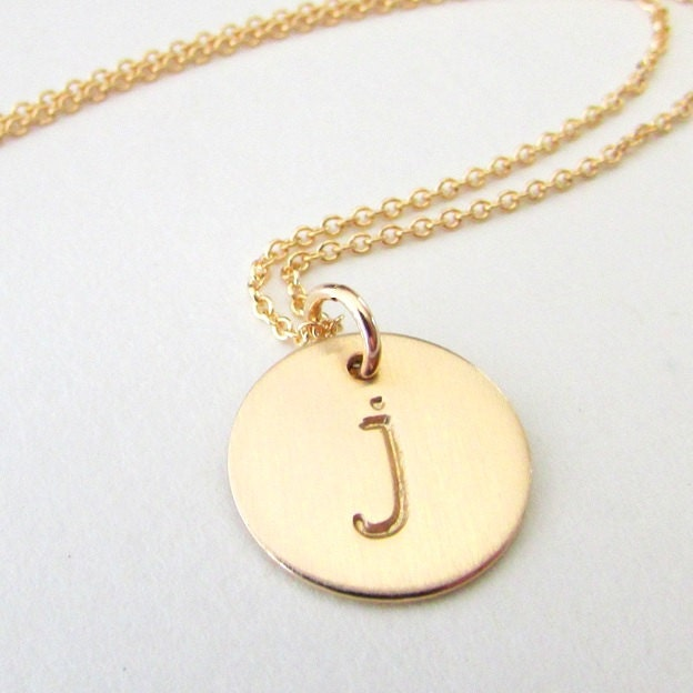 Gold letter necklace gold initial necklace gold letter charm zoom mozeypictures Choice Image