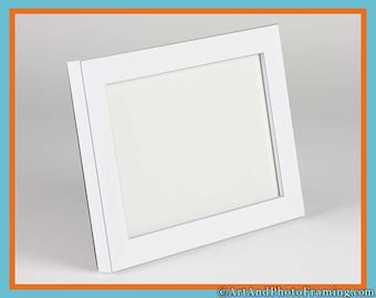 5X7 White Picture Frame 5x7 White Frame 5x7 White Photo Frame with Silver 5X7 Photo Frame 5X7 5 X 7 Picture Frames Custom Picture Frame 7X5