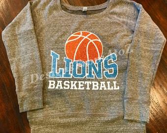Lions Basketball Sweatshirt