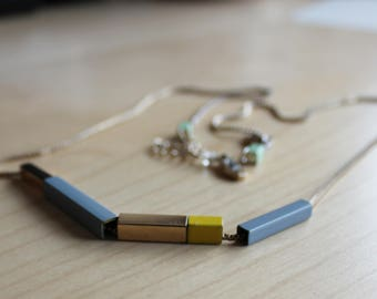 Modern Necklace/Kensie Necklace/Perfect for Sweaters and Shirts