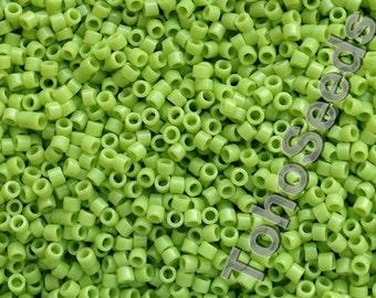 5g Toho 11/0 Treasure Cylinder Seeds Beads Opaque Sour Apple TT-01-44 Cylinder Rocailles Apple Green