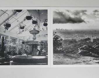 Black and White- 5 x 5' prints