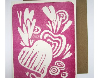 Heart Beets Card