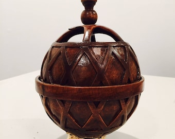"Liahona - Hand made from Century Wood (8.5""tall) 50% off"