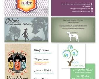Custom Business or Calling Card Design