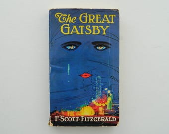 The Great Gatsby by F. Scott Fitzgerald. rare vintage paperback.