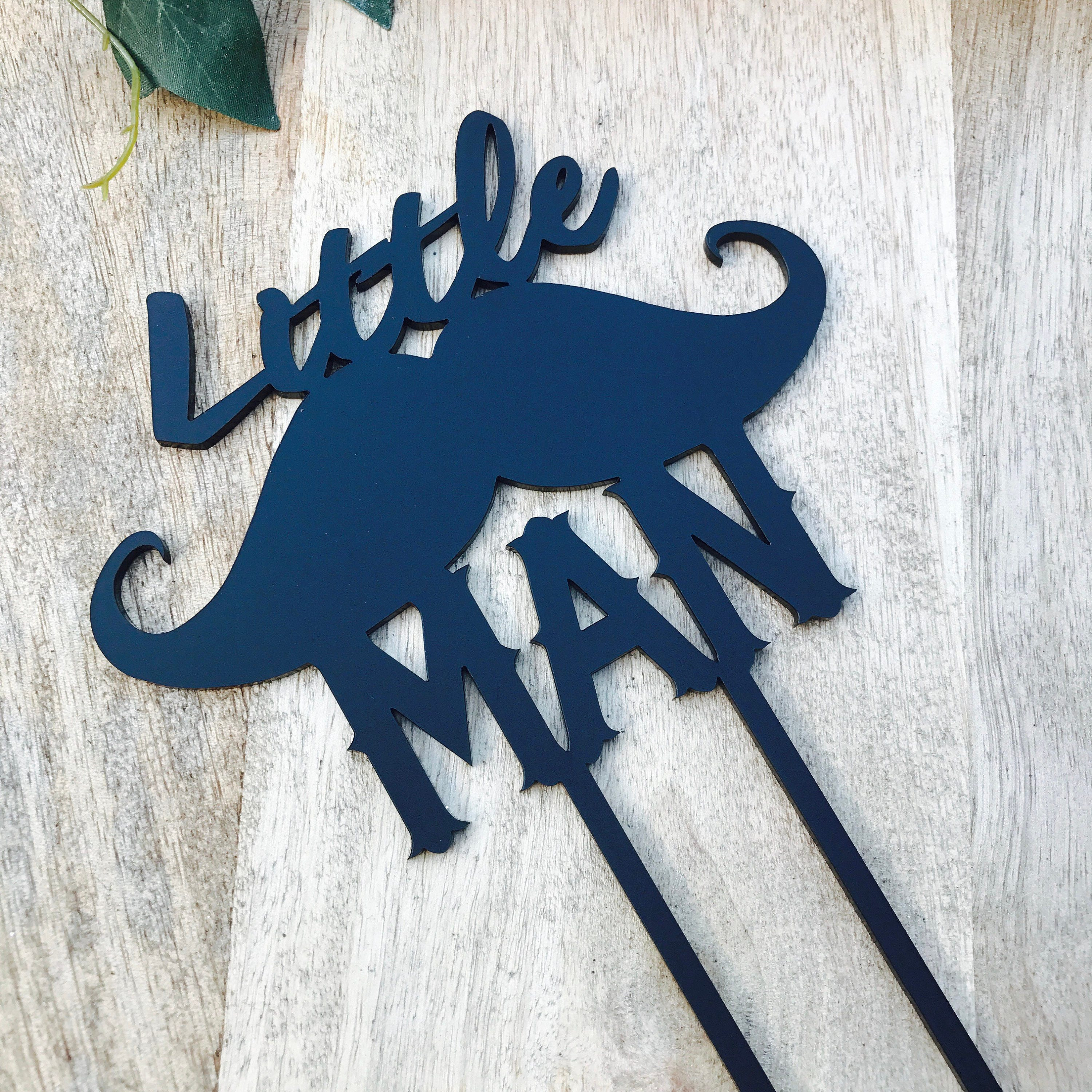 Little Man Baby Shower Cake Topper Moustache Cake Topper Cake