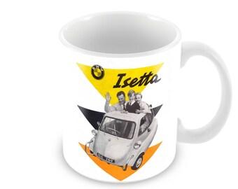 BMW Isetta  Advert Ceramic Coffee Mug    Free Personalisation