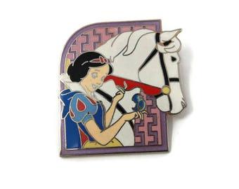 Snow White Disney Princess White Horse Disney Enamel Pin