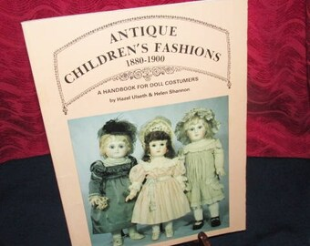 "Vintage Fashion Reference Book  ""Antique Children's Fashions 1880-1900"" by Ulseth and Shannon"