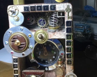 Time Machine assemblage